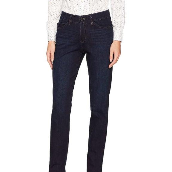 LEE Women's Flex Motion Regular Fit Straight Leg Jeans Now .40 (Was .90)
