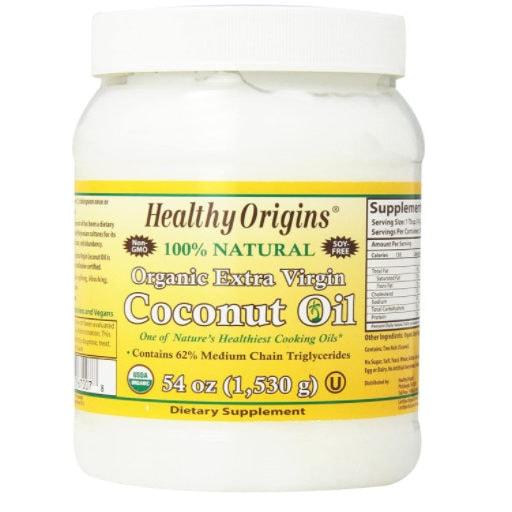Healthy Origins Organic Extra Virgin Coconut Oil, 54 Oz. Now .89 (Was .49)