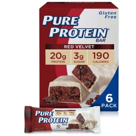 Pure Protein Bars, 1.76 oz, Pack of 6 Now .12