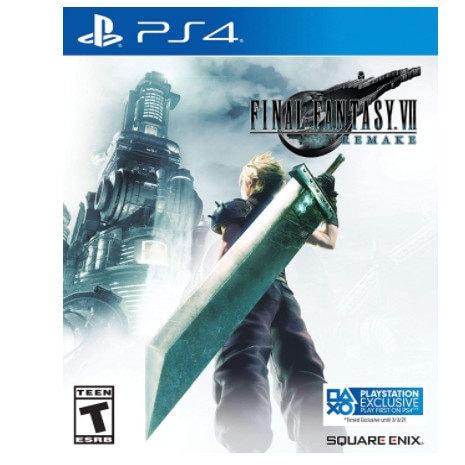 Final Fantasy VII: Remake - PlayStation 4 Now .99 (Was .99)