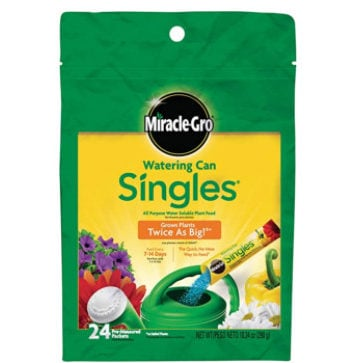 Miracle-Gro Watering Can Singles = 24 Packets Now .80 (Was .99)