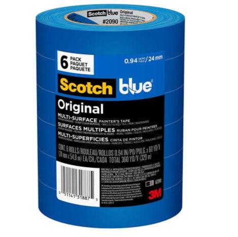 ScotchBlue Original Multi-Surface Painter's Tape, 6 Rolls Now .76 (Was )