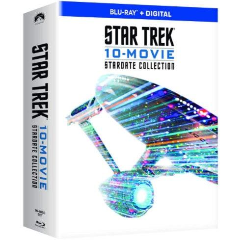 Star Trek 10-Movie Stardate Collection (Blu-ray + Digital) Now .99 (Was .99)