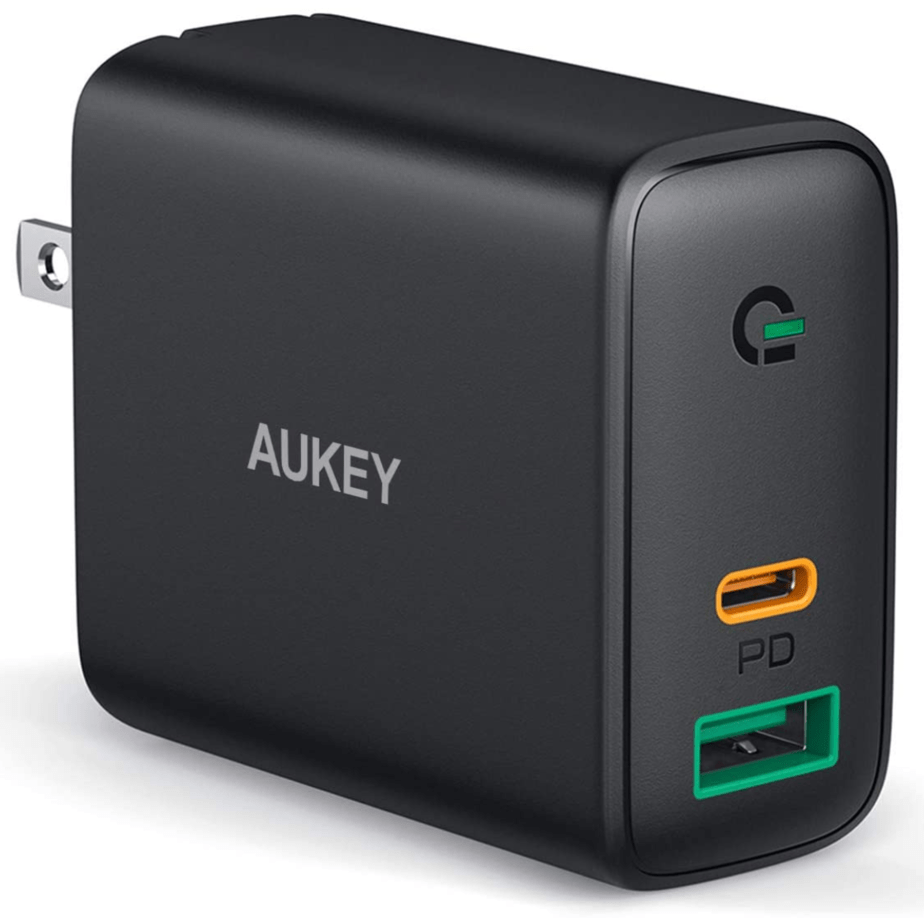 AUKEY USB C Charger 30W and 12W Power Delivery 3.0 Fast Charger Now .99 (Was .99)
