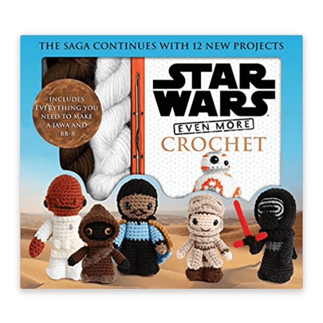Star Wars Even More Crochet Kit Now .99 (Was .99)