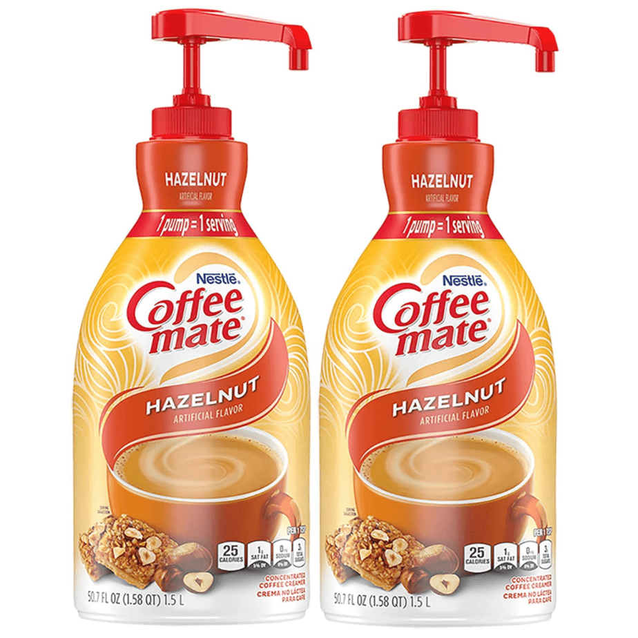 Nestle Coffee-Mate Creamers 50.7oz Bottles w/ Pumps 2-Pack Now.26 (Was )