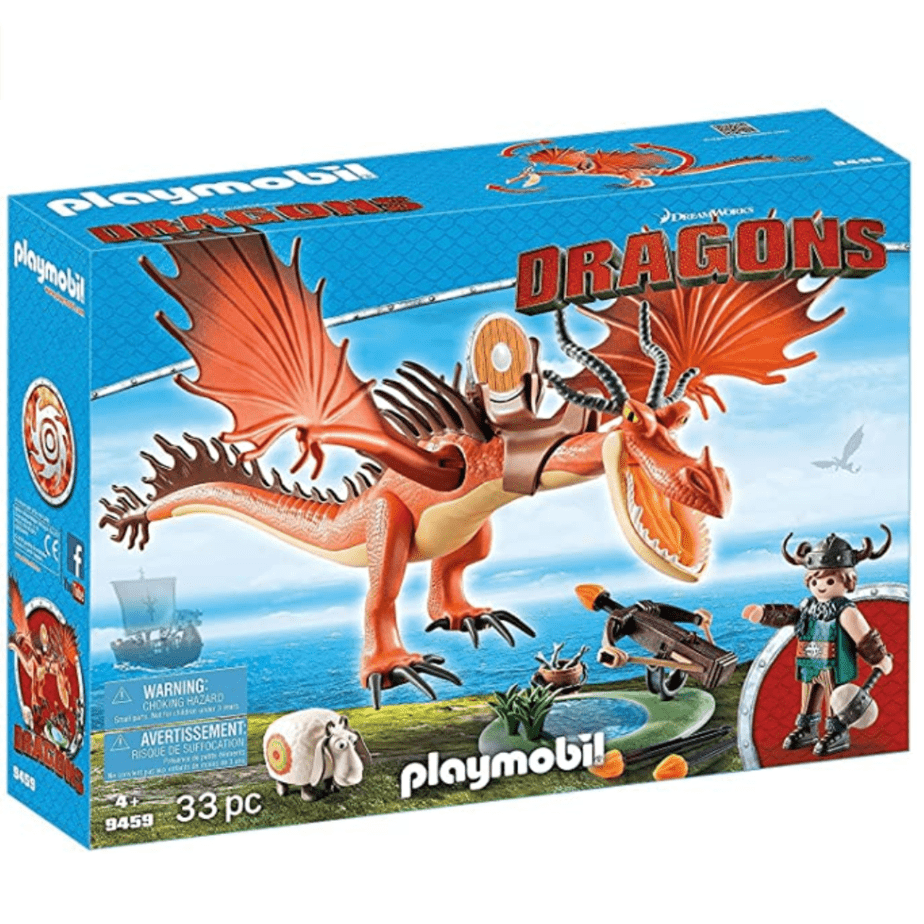PLAYMOBIL How to Train Your Dragon Snotlout with Hookfang Now .74 (Was .99)