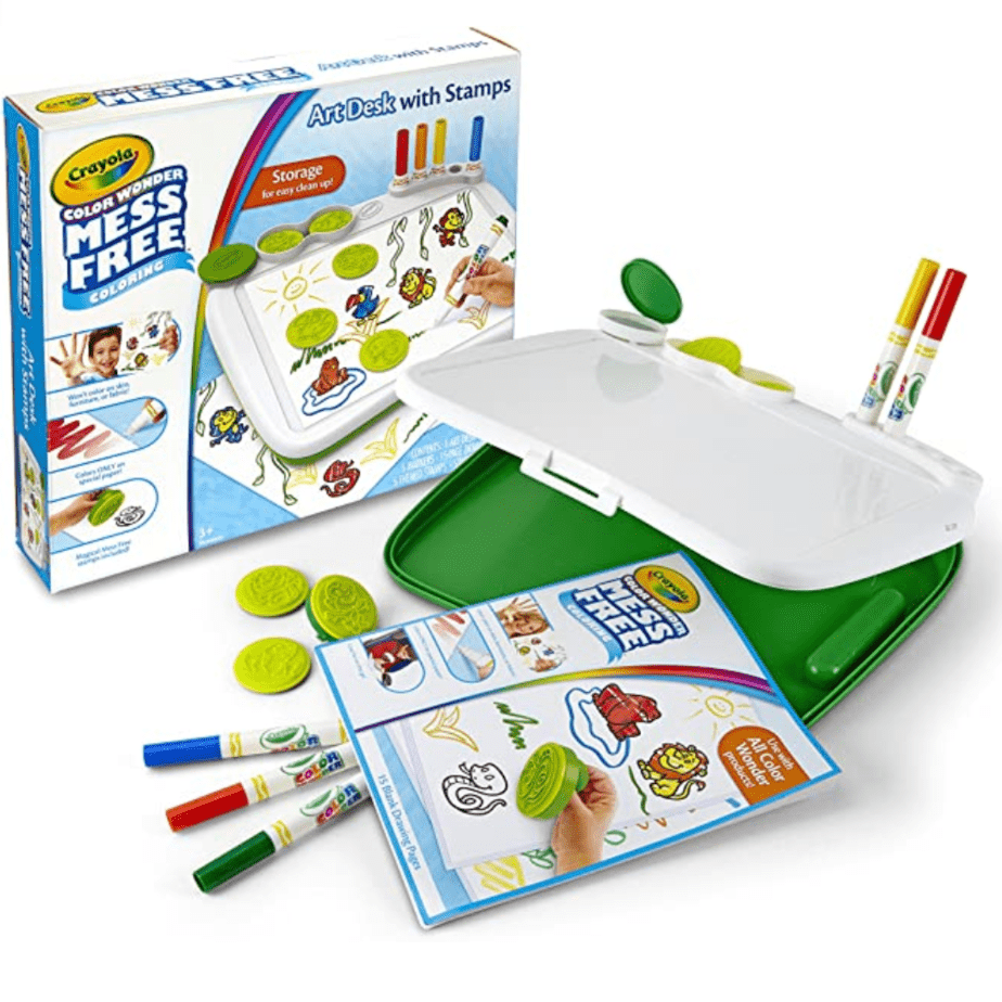 Crayola Color Wonder Mess Free Art Desk with Stamps Now .39