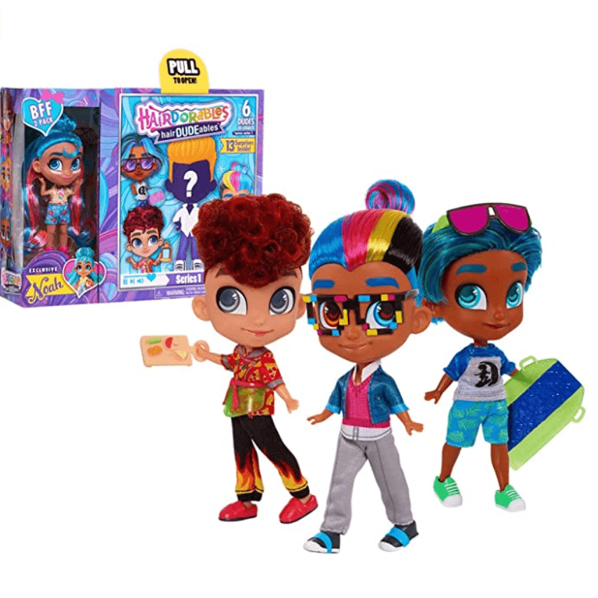 Hairdorables DUDEables Collectible Dolls Now .91 (Was .99)