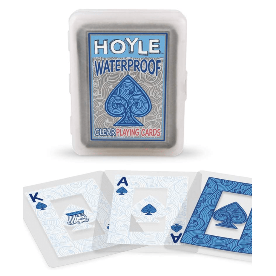 Hoyle Waterproof Clear Playing Cards Only .97