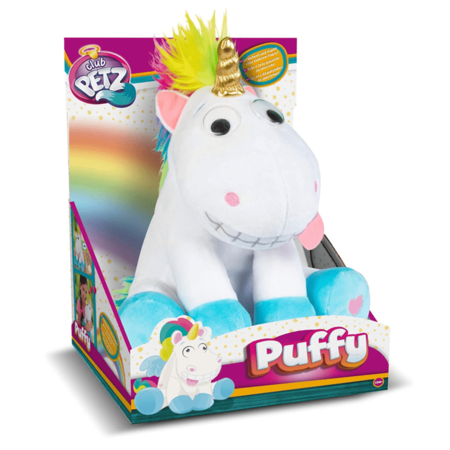Club Petz Puffy The Unicorn Interactive Plush Toy Now .49 (Was .99)