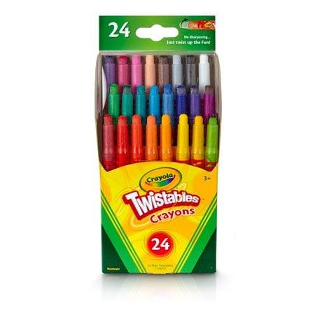 Crayola Twistables Crayons Coloring Set, 24 Count Now $3.79 (Was $5.99)