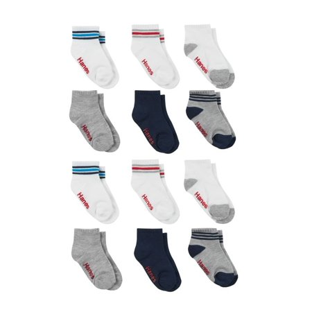 Hanes Boys' Toddler Ankle Sock 10-Pack Now $5.50 (Was $8.47)