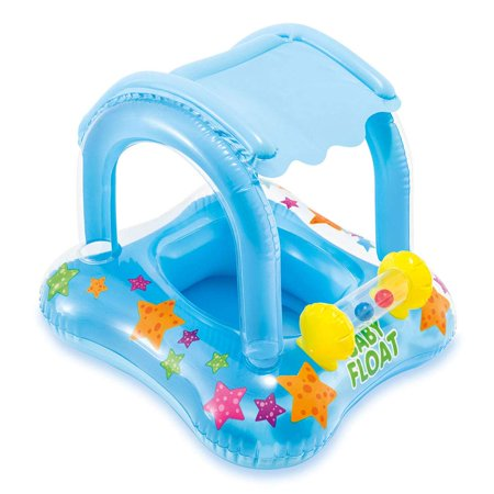 Intex My First Inflatable Baby Float, for Ages 1-2 Now $7.84 (Was $14.99)