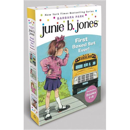 Junie B. Jones's First Boxed Set Ever! (Books 1-4) Now $9.98 (Was $19.96)
