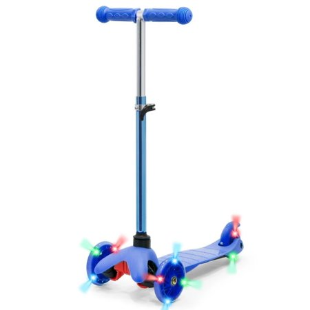 S SKIDEE 3 Wheel Kick Scooter With Folding Seat Now $47.00 (Was $74.95)