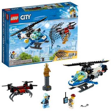 LEGO City Sky Police Drone Chase 60207 Building Kit Now $17.99 (Was $30)