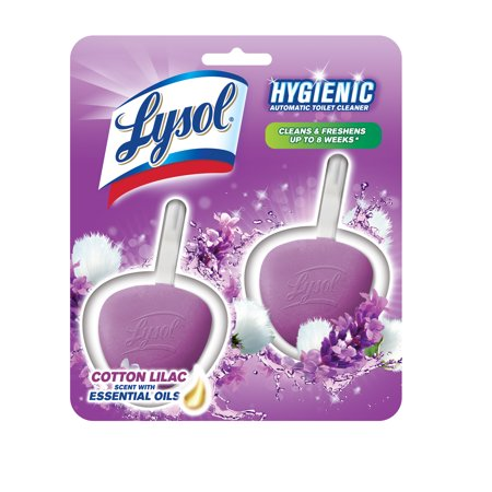 Lysol Automatic Toilet Bowl Cleaner, 6 Count Now $3.65