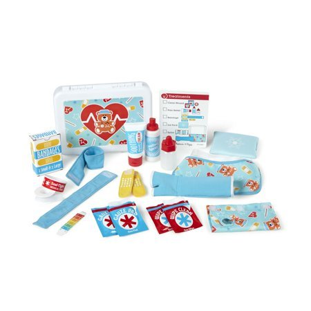 Melissa & Doug Get Well First Aid Kit Play Set (25 Toy Pieces)