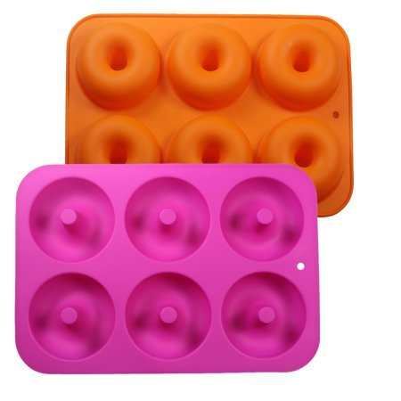 3-Pack Silicone Donut Baking Pans Now $9.99
