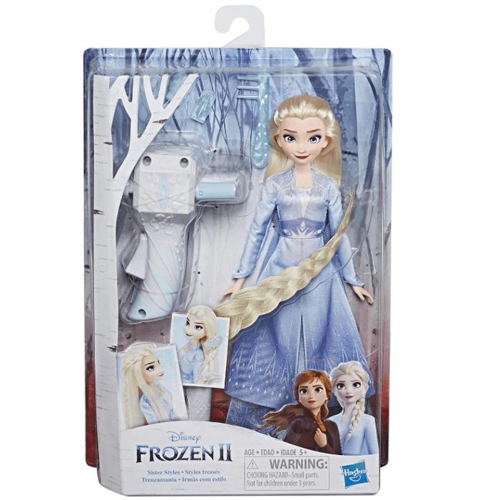 Disney Frozen II Sister Styles Elsa Fashion Doll Now .20 (Was .99)