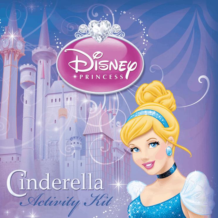 Free Printable Cinderella Activity Booklet