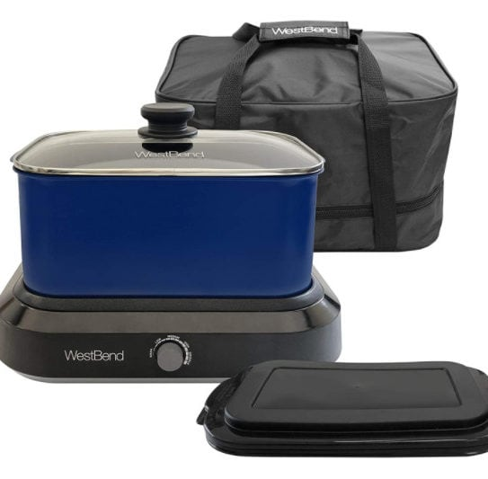 West Bend Large Capacity Non-Stick Versatility Cooker Now .99 (Was .15)