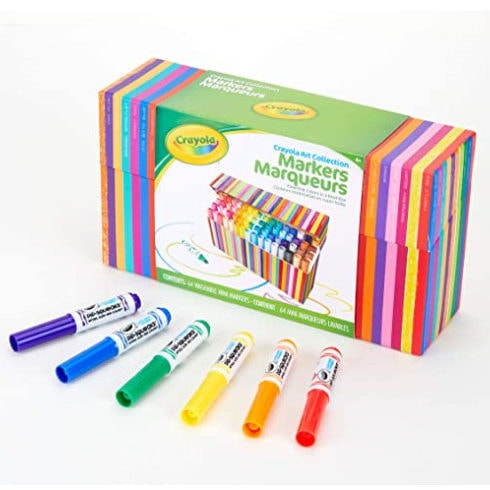 Crayola Pip Squeaks Marker Set, 64 Count Now .20 (Was .99)