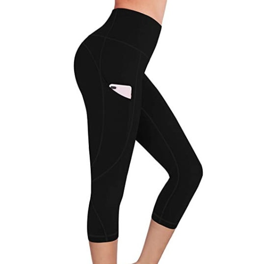 FUNANI Women's High Waist Yoga Pants with Pockets Now .97