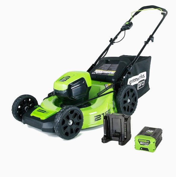 Greenworks Pro 60-Volt Push 21-in Cordless Lawn Mower Now 6 (Was 0)