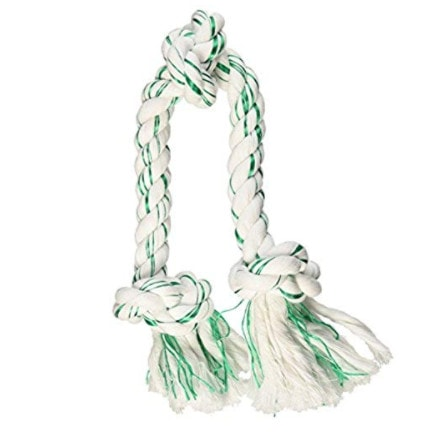 Booda Fresh N Floss 3 Knot Tug Rope Dog Toy Now .16 (Was .99)
