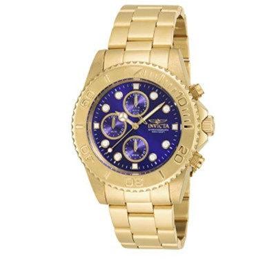 Invicta Men's 19157 Pro Diver Gold-Tone Bracelet Watch Now .85 (Was 9)