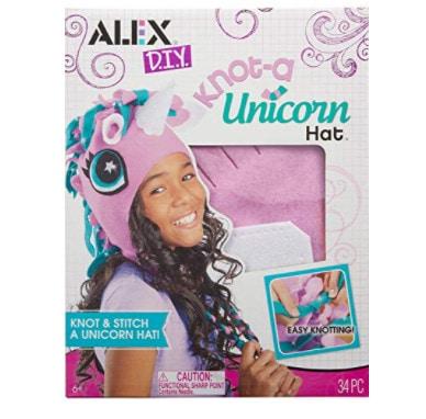 Alex DIY Knot-A Unicorn Hat Craft Kit Kids Art and Craft Activity Now .94 (Was .00)