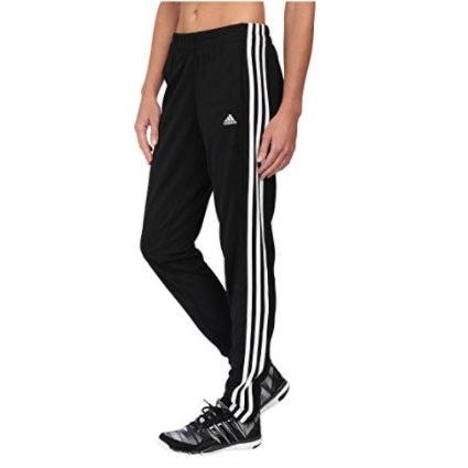 adidas Women's T10 Pants, Black/White Now .45 (Was .00)