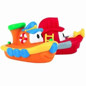 Nuby 2-Pack Floating Boat Bath Toys Now .73 (Was .99)