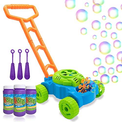 Kids Bubble Blower Machine Lawn Games Now .99 (Was .99)