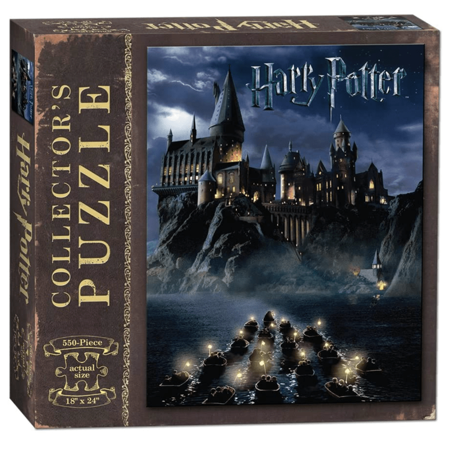 USAOPOLY World of Harry Potter 550 Piece Jigsaw Puzzle Now .99 (Was .99)