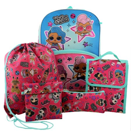 Shopkins & L.O.L Backpacks with Lunch Bag from $10.99