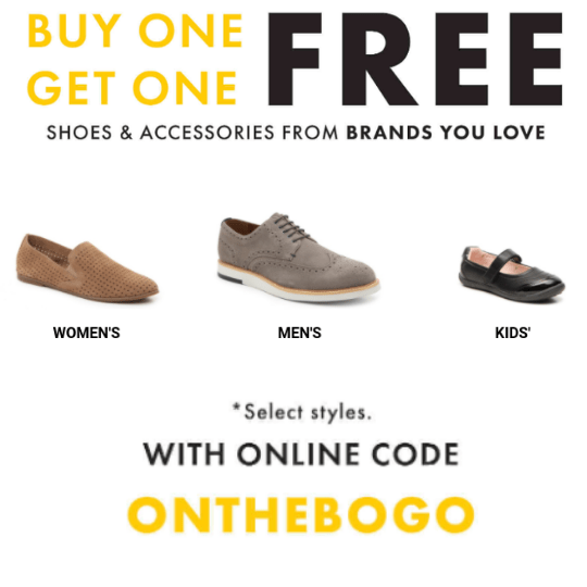 Buy One Get One Free Shoes at DSW