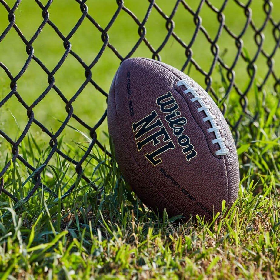 Wilson NFL Super grip Composite Junior Football Now .92 (Was .99)