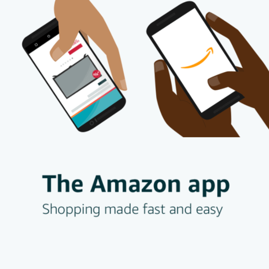 Get  Off Any + Order w/First Sign-in To Amazon App