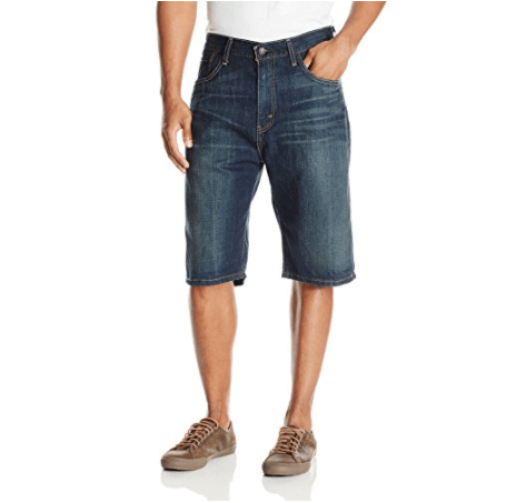 Levi's Men's 569 Loose Straight Denim Shorts Now .93 (Was .00)