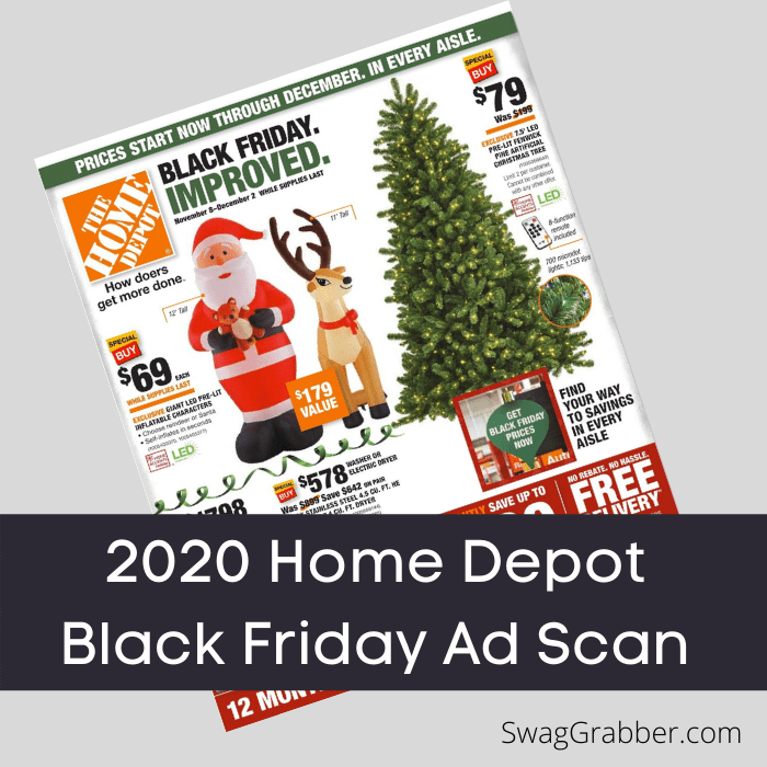 2020 Home Depot Black Friday Ad Swaggrabber