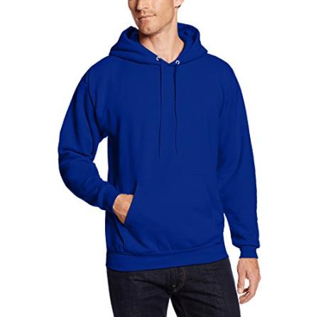 Hanes Men's Pullover EcoSmart Fleece Hooded Sweatshirt Now .50 (Was .00)