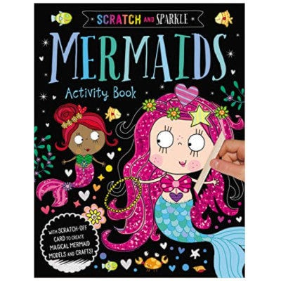 Mermaids Activity Book Scratch and Sparkle Now .57 (Was .99)