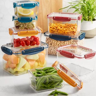 Tools of the Trade 16-Pc. Tritan Food Storage Container Set .24 (Was )