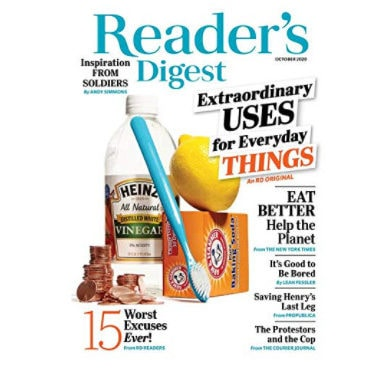 Reader's Digest 6 Month Subscription Only .50