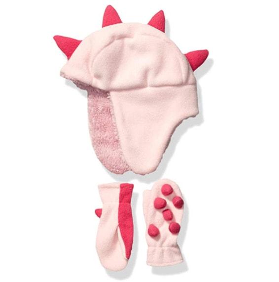 Spotted Zebra Girls' Kids Fleece Hat Mittens Set Now .00 (Was )