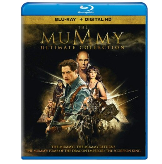 The Mummy Ultimate Collection Blu-ray Now .99 (Was .99)