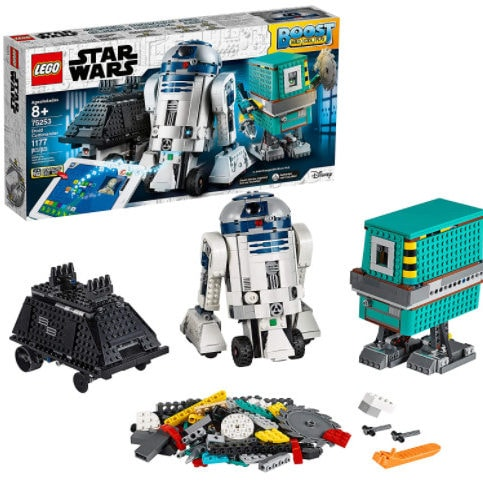 LEGO 75253 Star Wars Droid Building Set with R2 D2 Robot Toy (1,177 Pieces) Now 4.29